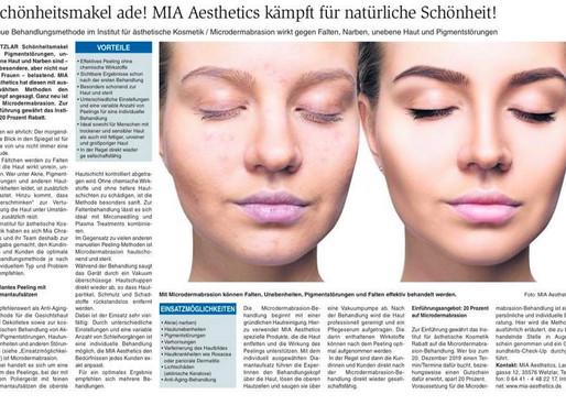 Schönheitsmakel ade! MIA Aesthetics kämpft für natürliche Schönheit