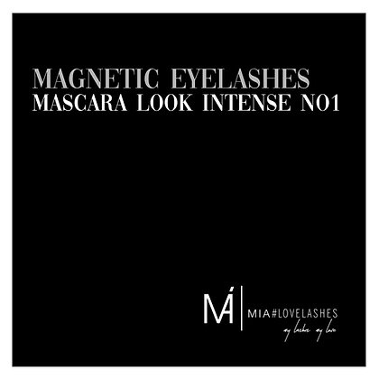 MIA#Magnetic Eyelashes Mascara Look No 1