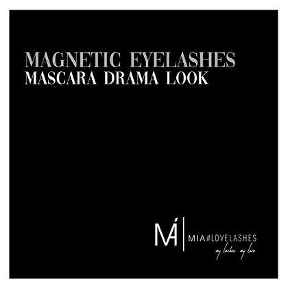 MIA#Magnetic Eyelashes Drama Look