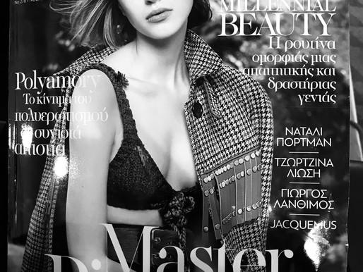 Thank you Madame Figaro Magzine Greece