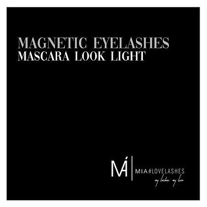 MIA#Magnetic Eyelashes Mascara Look Light