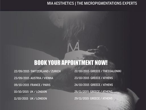 MIA Aesthetics | Micropigmentation Dates