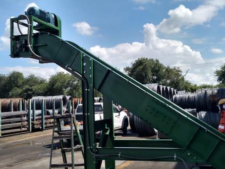 Conveyor Sistema Filtrado Rebaba