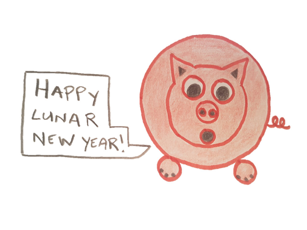 Lunar New Year of the Pig