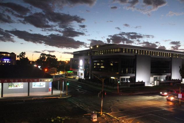 Outdoor view of Bloemfontein