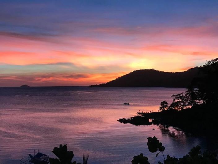 Stunning Sunset in Paradise