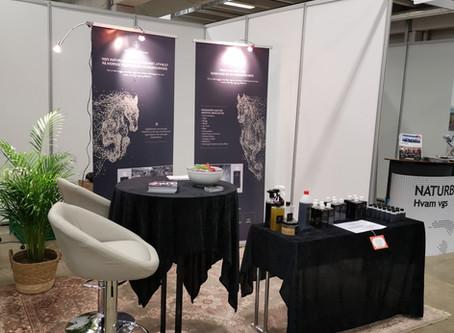Nordic Horsecare var tilstede på Norwegian Horsefestival i februar 2020
