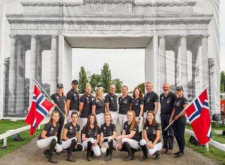 Nordic Horsecare støtter Islandshest landslaget på VM i berlin 2019