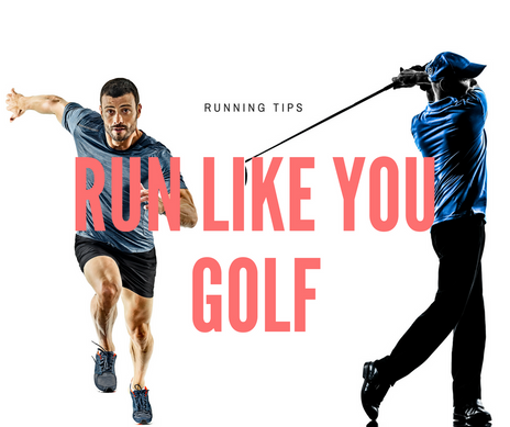 Run Like You Golf - How to fix your Running Stride.