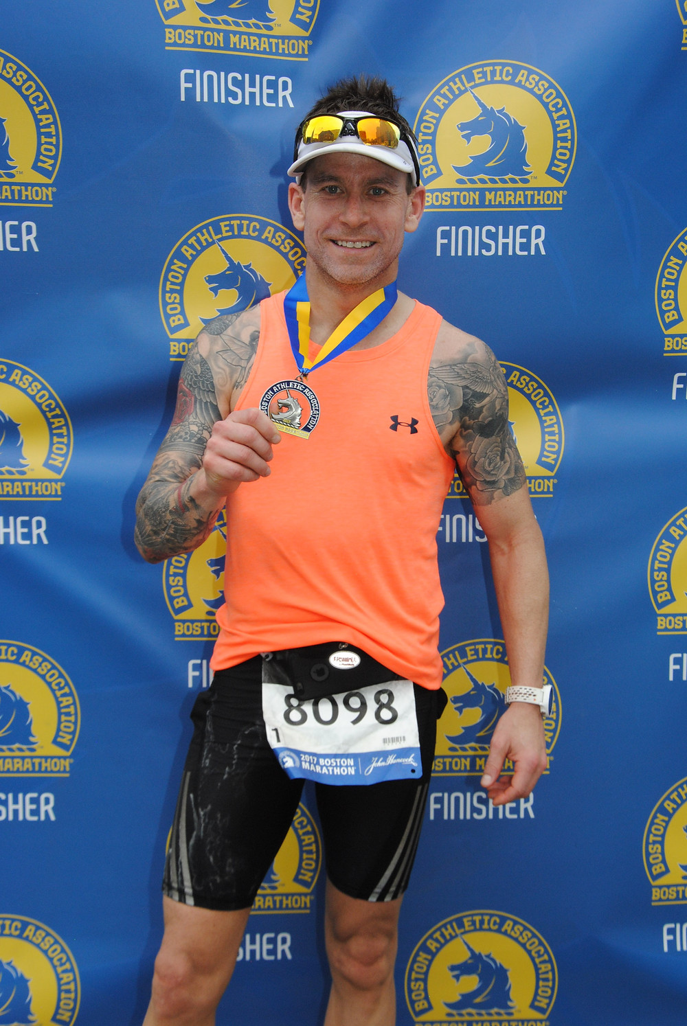 Boston Marathon - Ian Aman