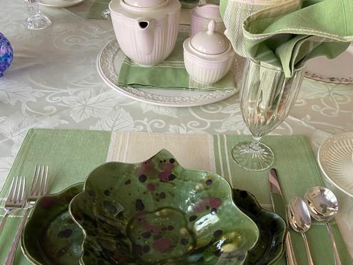 Tranquil Tea Tablescape