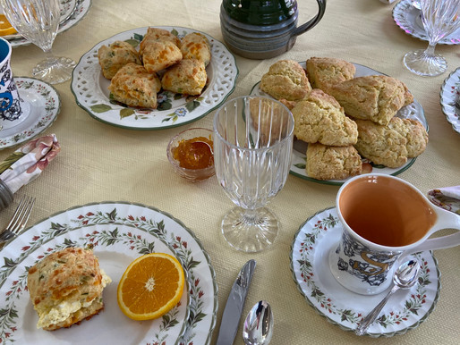 Scones for Lunch or Tea