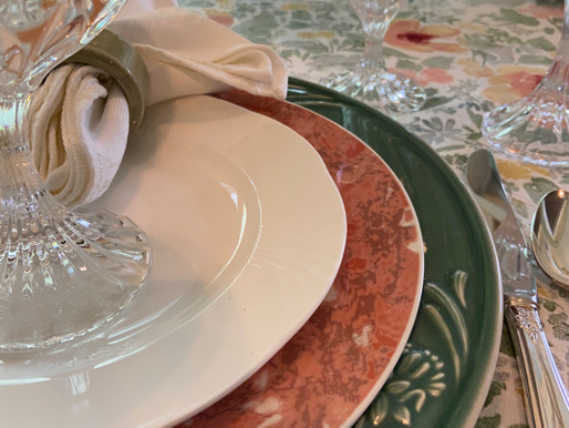 Celebrate Summer Table Setting