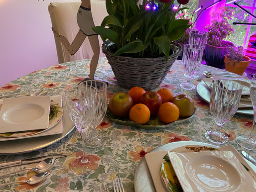 Thrifted Before Easter Tablescape