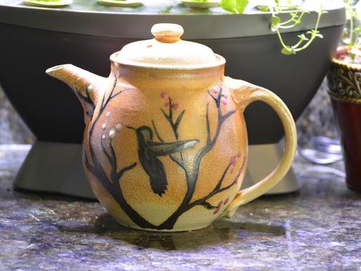 Pottery Teapots