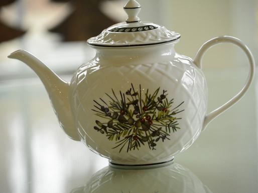 Thrifting Tea Pots