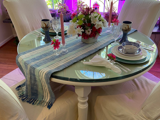 Another Table Setting from the Thrift Store