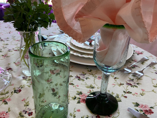 Spring Has Sprung Table Setting