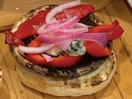 Portobello Mushroom Burger with Great Toppings