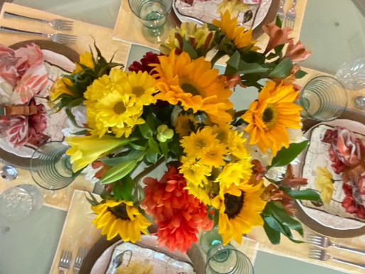 Transitioning to Fall Tablescapes
