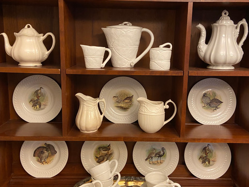Creating a New China Display for the Dining Room