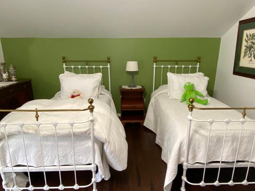 Antique Cast Iron Twin Beds