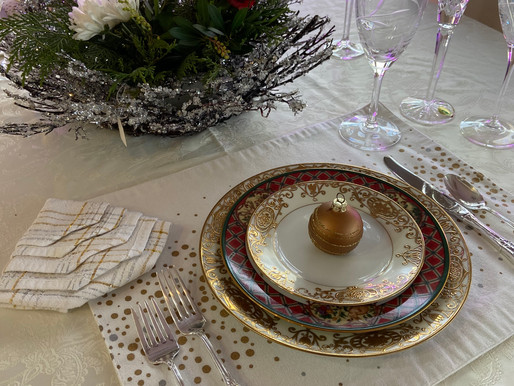 Special Christmas Table Setting
