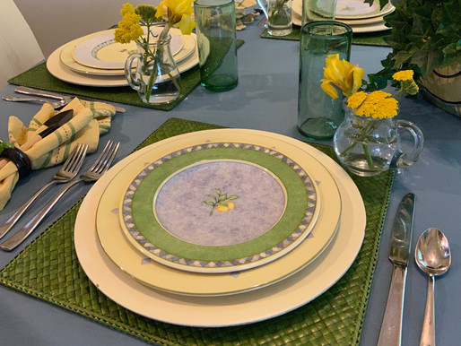 New Finds, New Table Setting