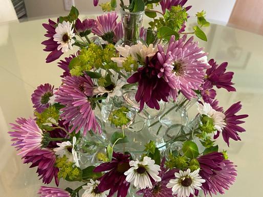 Cluster Bud Vase Centerpiece
