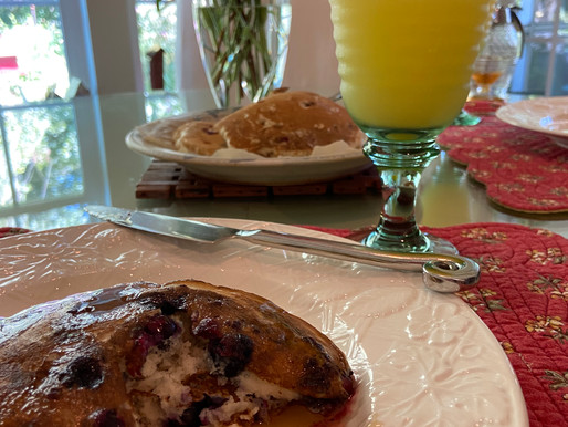Blueberry Breakfast for Two