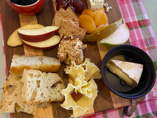 Cheese Board with Homemade Cheese Balls