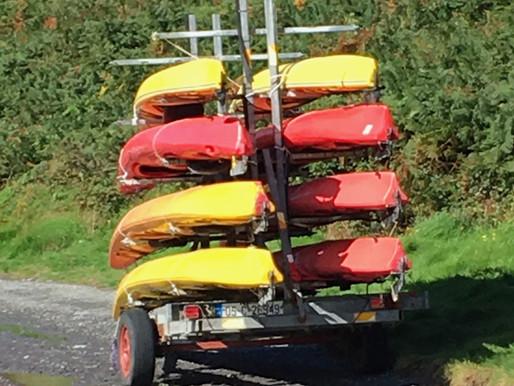 Kayaking on an Inland Sea