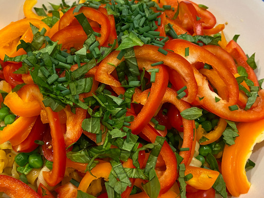 Fresh Pasta Salad with Lemon Vinaigrette