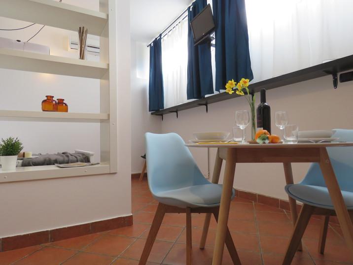 San Lorenzo Apartment zona pranzo