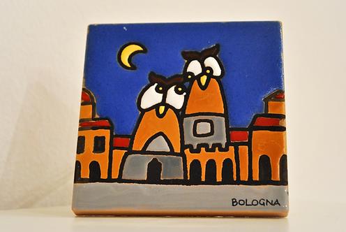 Due Torri owls - night