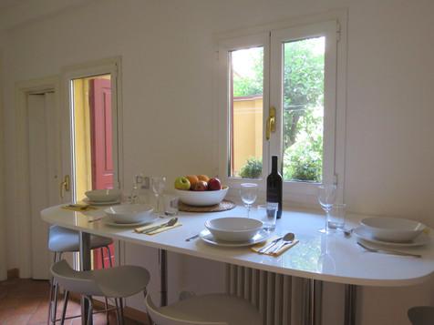 Altaseta Apartments zona pranzo