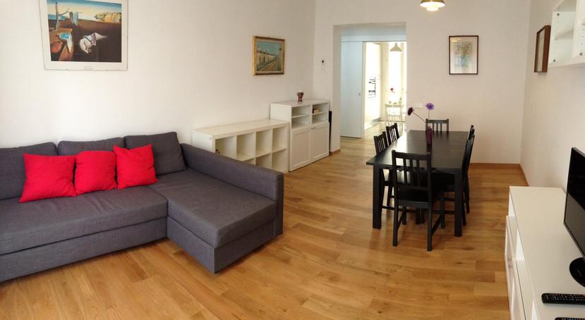 Santa Croce Apartments soggiorno
