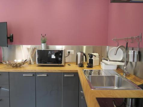 8 Colonne Apartments angolo cucina