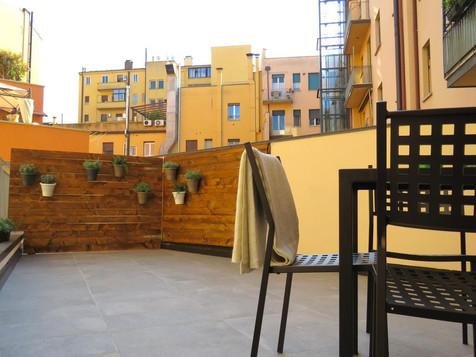8 Colonne Apartments terrazzo