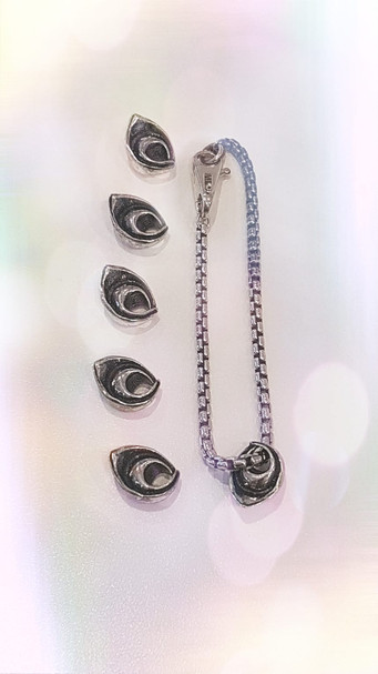 Braccialetto e ciondoli Pandora di TortellinoArt