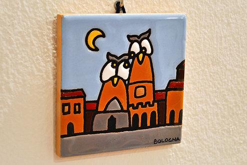 Due Torri owls - day