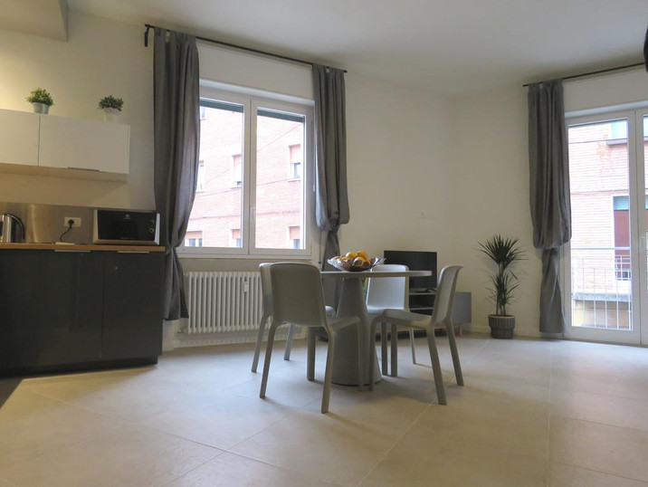 8 Colonne Apartments soggiorno