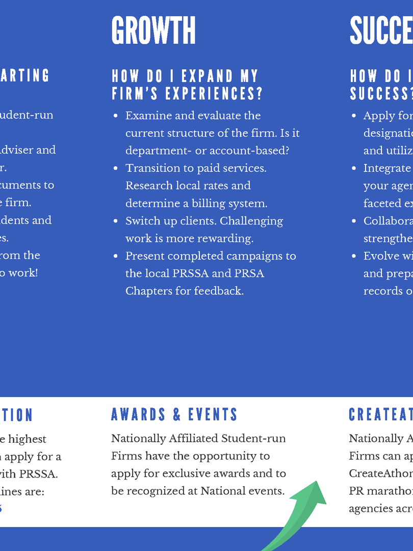 Student-run Firm Brochure