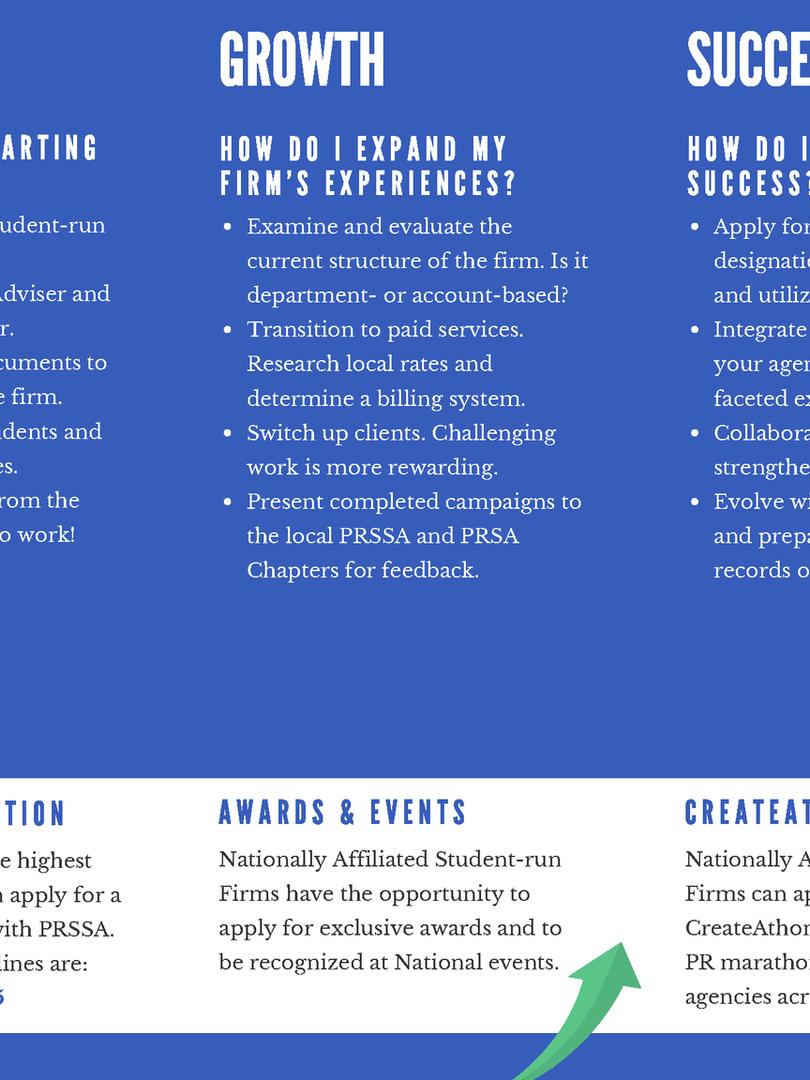Student-run Firm Brochure