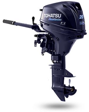 MFS 20S- 4-х тактный подвесной лодочный мотор Tohatsu