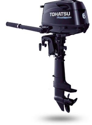 MFS 6 S, MFS - 4-х тактный подвесной лодочный мотор Tohatsu