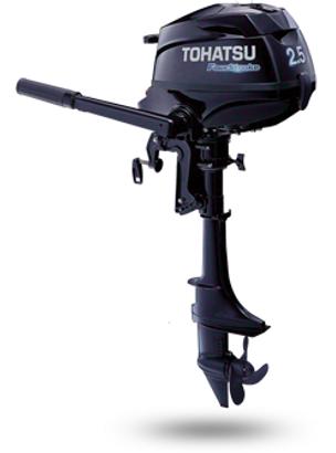 MFS2.5 S - 4-х тактный подвесной лодочный мотор Tohatsu