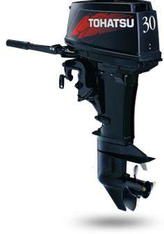 M 30S- 2-х тактный подвесной лодочный мотор Tohatsu