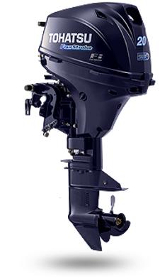 20 EPS - 4-х тактный подвесной лодочный мотор Tohatsu