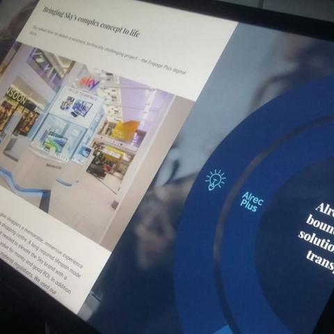 Interactive presentation Alrec